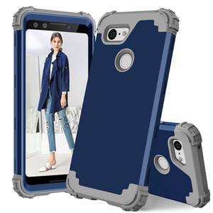 pixel 3a fall großhandel-Shockproof Hybrid Heavy Duty Defender Case für Google Pixel XL Pixel A A XL XL