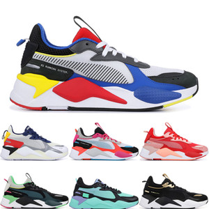 Wholesale RS X Reinvention Toys Transformers Top Men Women Casual Shoes BLUE ATOLL FUCHSIA PURPLE Designer Mens Sports Runner Sneakers size