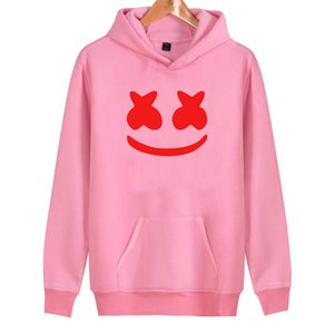 Wholesale 2019 New Smlie Hoodies Women men High Quality Cotton Harajuku Women's Hoodies And Sweatshirt Smlie Casual Hoodies Clothes