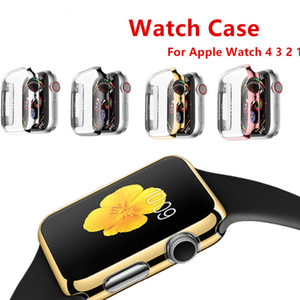 Case cover For Apple Watch 4 3 apple watch case iwatch band strap 42mm 38mm 44mm 40mm screen protector watch Accessories on Sale