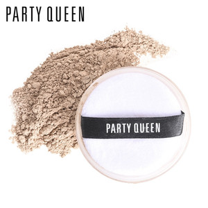 ingrosso definizione-3 Colori Party Queen Superfine Sheer Loose Setting Powder Ultra Definizione Oil Control Fix Powder con Puff Makeup Lasting Face Finishing