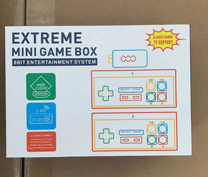 EXTREME MINI GAME BOX 8Bit Entertainment System TF Support Classic Games Video Game 2019 NEW