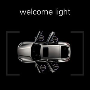 Wholesale New Style Wireless Led Car Door Welcome Laser Projector Logo GhosShadow Light for Volkswagen Ford BMW Toyota Mercedes Benz Mazda VW Free DHL