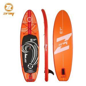 Wholesale surf board x76x12cm JILONG ZRAY E9 inflatable sup board stand up paddle surf kayak sport inflatable boat bodyboar