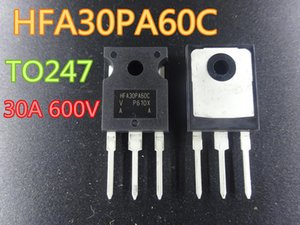 Wholesale 10pcs lot New Rectifier HFA30PA60C 30A 600V TO247 in stock free shipping