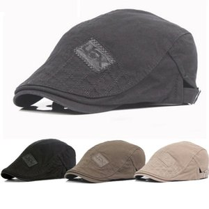 Wholesale Men Cap Newsboy Visors Gatsby Ivy Hat Golf Driving Flat Cabbie Beret Driver Cotton Hat