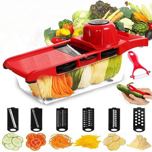 HOT! Quickdone Creative Mandoline Slicer Vegetable Cutter With Stainless Steel Blade Manual Potato Peeler Carrot Grater Dicer Gadgets Tool