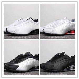 Wholesale 2019 Hot Sell Men Shoes Avenue Deliver Current NZ R4 Triple Black casual Shoe Man white black Silver red for Top quality ca