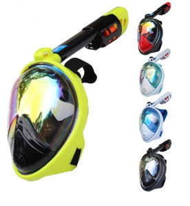 Diving Mask Carbon fiber plating Full Face Anti-fog mask Snorkeling adult Anti-skid Underwater mask professional dive equipment
