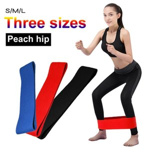 Wholesale Unisex Anti Slip Hip Band Resistance Bands Exercise Elastic Bands For Yoga Stretching Training Fitness Workout