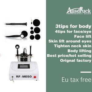 Europa tax free DHL shipping Monopolar RF RADIO FREQUENCY machine Face Skin lift tightening Beauty Equipment SKIN REJUVENATION SPA machine