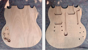 Wholesale Double neck electric guitar body for 1275 model