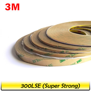 2019 Promotion! 1mm 2mm 5mm 3mm 10mm Choose, 3M 300LSE Super Strong Double Sided Adhesive Heavy Duty Tape for LCD Lens Digitizer 55M on Sale