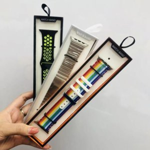 Wholesale Universal Smart Watch Band Retail Package for iWatch Strap box Hot Fashion Simple Package Watchband Box for Apple Watch