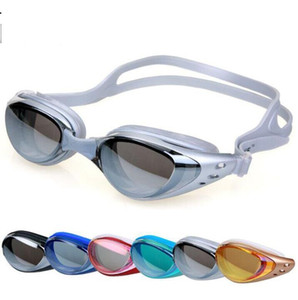 Wholesale mirrored swimming goggles for sale - Group buy Unisex Adult Coating Mirrored Sport Water Sportswear Anti Fog Anti UV Waterproof Swimming racing Goggles Glasses New Arrival