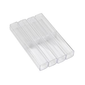 Crystal Acrylic Microblading Pen Box Caneta Microblading Tebori Display And Storage Box Brow Manual Tattoo Supplies