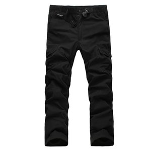 Wholesale winter army trousers for sale - Group buy Men Winter Fleece Thick Warm Baggy Pants Men Outdoor Jogger Mlitary Tactical Cargo Pant Double Layer Army Cargo Pants Trousers