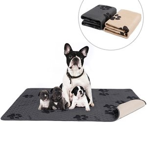 Wholesale dog pet training pads resale online - Waterproof Reusable Dog Bed Mats Dog Urine Pad Puppy Pee Fast Absorbing Pad Rug for Pet Training Stock