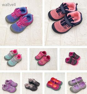 Wholesale wallvell Export to the United States children's sports shoes boys and girls sports shoes outdoor shoes soft bottom shoesMX190919