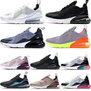 Trainers Mens Tennis Shoes 27C Black Core White ASHEN SLATE Womens Sneakers BARELY ROSE Throwback Future Hot Punch Be True NIK Mens Shoes on Sale