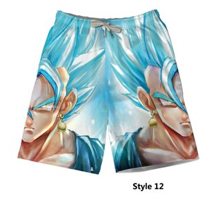 Wholesale New Cartoon Dragon Ball D Digital Printing Cosplay Beach Pants Bright coloured Leisure Relaxed comfortable
