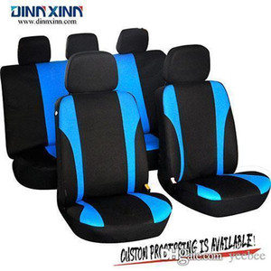 Wholesale DinnXinn 110322F9 Ford 9 pcs full set sandwich dog seat cover car supplier manufacturer from China