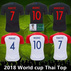 2018 World Cup Croadia jersey VIDA REBIC RAKITIC PERISIC LOVREN Croadia Soccer Jersey Luka modric Voetbal croazia Football Shirts MANDZUKIC