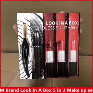 Wholesale Hot Sell Famous M Brand LOOK IN A BOX ENDNESS SUNSHINE in Make up set