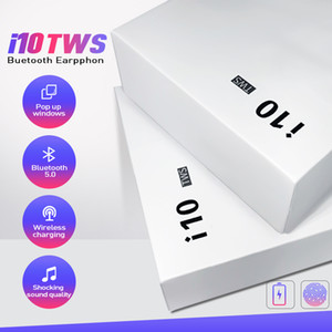 New Handsfree wireless Headphones i10 tws Bluetooth Earphone 5.0 True Wireless Earbuds For Android iPhone X Xs max