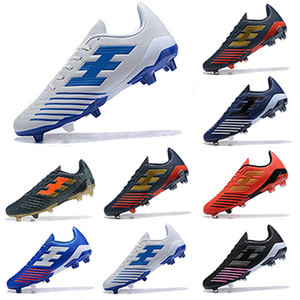 Predator Accelerator Football Boots Mens Electricity FG DB David Beckham Becomes 1998 98 Men Cleats Soccer Shoes Size 39-45