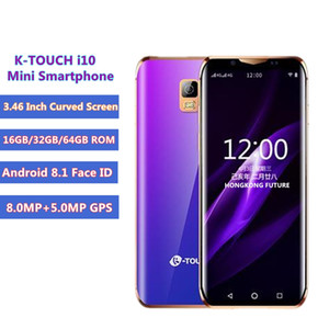 Wholesale Luxury Super mini G Mobile phone K TOUCH i10 Inch Curved Screen GB GB GB ROM Android Face ID Smallest Smartphone Cell phone