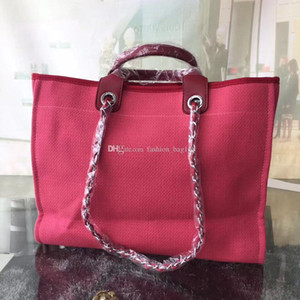 Wholesale Fashion Designer Woman Canvas Handbags Classic Embroidery Shoulder Shopping bags Leather High Quality Chain Handbag Crossbody Beach Bag Code