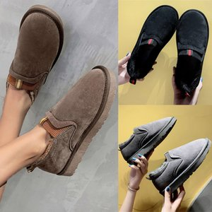 Wholesale SAGACE New women s boots Super fire fashion high top Height increasing casual women Booties autumn winter thick soled Female S9