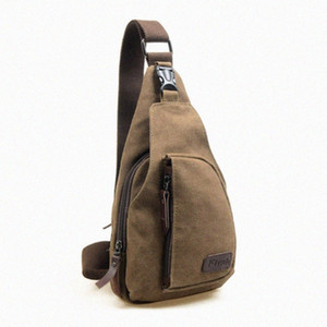 Free2019 Trend Leisure Time Canvas Male Packet Man Oblique Satchel Single Shoulder Package The Chest Tide A on Sale