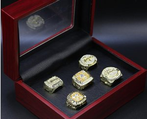 Wholesale Super Bowl 2000 2001 2002 2009 20105 ring set gift jewellery