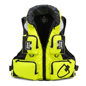 Wholesale Fishing Vest General Size Multi Function Adjustable Mesh Vest With Mutil-Pocket Outdoor Fly Fishing Life Jacket