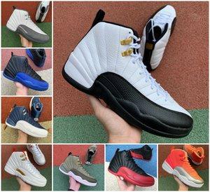 New 12s Taxi Mens Flu Game Royal Basketball Shoes Cheap 12 OVO White University Gold Winterized WNTR Gym Red Retroes Indigo Playoff Trainers