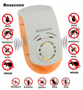Wholesale electronic rat insect resale online - USA Plug Electronic Ultrasonic Mosquito Repeller Mouse Mosquito Repellent Killer Mouse Cockroach Insect Rats Spiders Pest Control