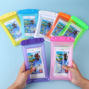 Wholesale Universal PVC Swimming Waterproof Phone Case Bag for Iphone s plus Armband Water Proof Case Pouch for all Mobile Phone