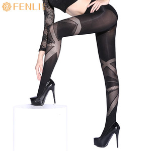 Wholesale Women Sexy Pantyhose Panty Hose Nylon Elastic Step Foot Seamless Tights Stockings Hosiery Italy Style women Stockings