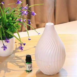 Wholesale New White Vase Humidifier Beautiful Bedroom Aroma Diffuser ml Ultrasonic Mute Essential Oil Diffuser Desktop Mist Maker