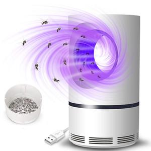 LED Mosquito Lamp LED Photocatalyst Mosquito Killer Lamp USB Powered Non-Toxic UV Protection Mute Mosquito Killer Lamp