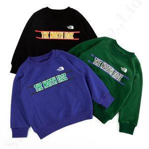 Wholesale Boys Kids Long Sleeve Designer Sweatshirt NF Embroidery Letters Printed Pullovers The North Sweater Brand Face Cotton Hoodies Clothes C82703
