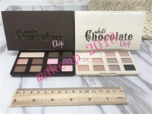 Wholesale Drop shipping Chocolate Chip Palette MATTE   WHITE 11 Color Eye Shadow Palette top quality 1 pcs ePacket
