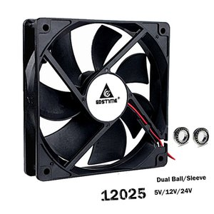 Wholesale Fan Cooling Fans Cooling Gdstime V V CPU PC Computer Case Fan x120x25mm PIN PIN cm Laptop GPU mm