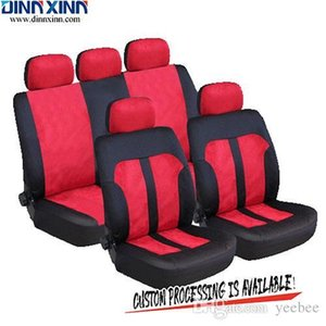Wholesale DinnXinn 111073F9 Toyota 9 pcs full set Polyester leather seat car cover manufacturer from China