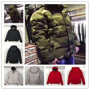 mens designer jackets hooded luxury canadian winter coats white black camouflage waterproof windbreaker jacket christmas gifts down jackets