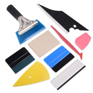 Wholesale Vinyl Car Stickers Decals Styling Tools Set Car Wrap Film Install Squeegee Scraper Window Tint Tool Auto Cleaning Wiper