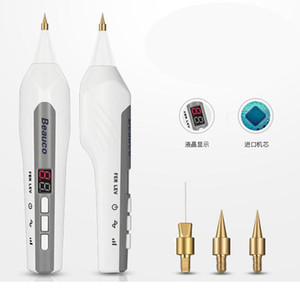 Wholesale skin tag remover resale online - Newest Spot Removal Machine Laser Freckle Removal Pen Skin Tag Wart Removal Tattoo Remover Plasma Pen Skin Care Salon Home Use Device
