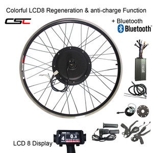 CSC E BIKE 48V 1500W MTB Electric bike Kit 20 24 26 27.5 28 29 inch 700C Front Rear Bike Wheel Hub Motor conversion kit with LCD display